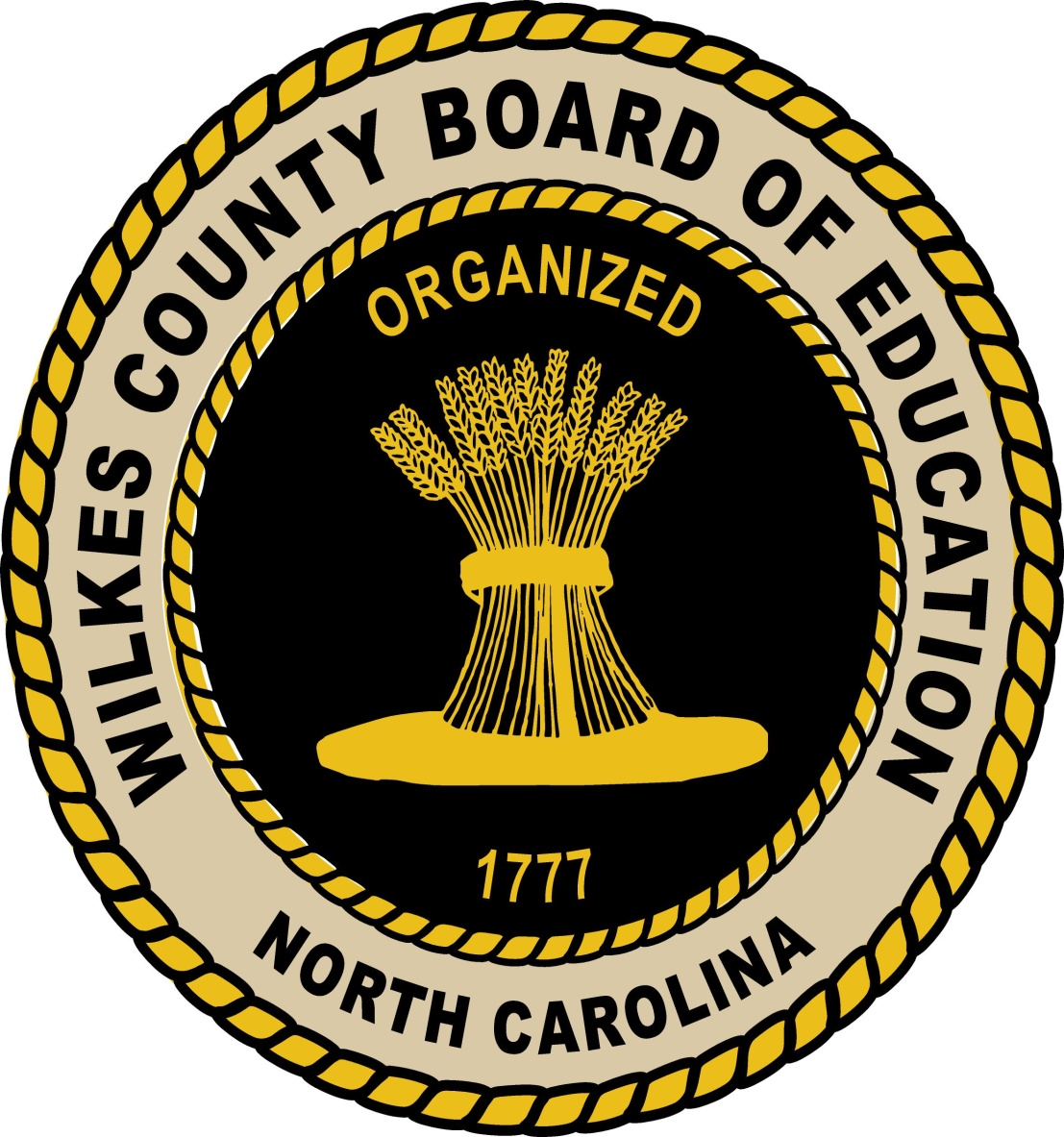 Wilkes County Board of Education Seal